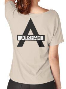 Batman : Arkham Asylum Women's Relaxed Fit T-Shirt