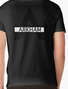 Batman : Arkham Asylum Mens V-Neck T-Shirt
