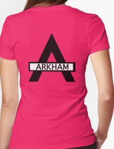 Batman : Arkham Asylum Womens Fitted T-Shirt
