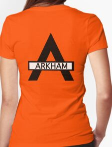 Batman : Arkham Asylum Womens Fitted T-Shirt