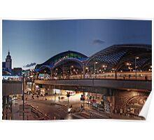 Cologne Station Poster