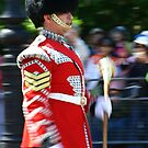 Drum Major - Irish Guards by Colin Shepherd