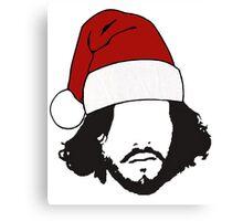Jon Snow - Christmas Canvas Print