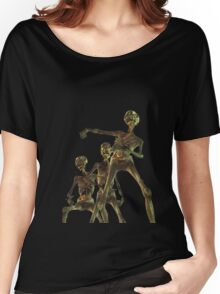 Attacking Skeletons Women's Relaxed Fit T-Shirt