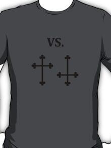 good vs evil halloween T-Shirt