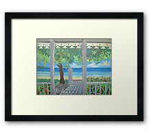 Stacy's Hillsview Guesthouse-1966-Montego Bay Framed Print