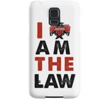 I am the law [colour] Samsung Galaxy Case/Skin