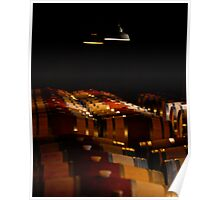 Barrel Room - Hess Winery Poster