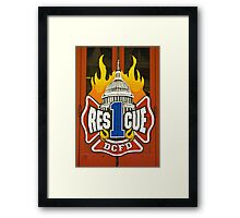 Rescue 1 Framed Print
