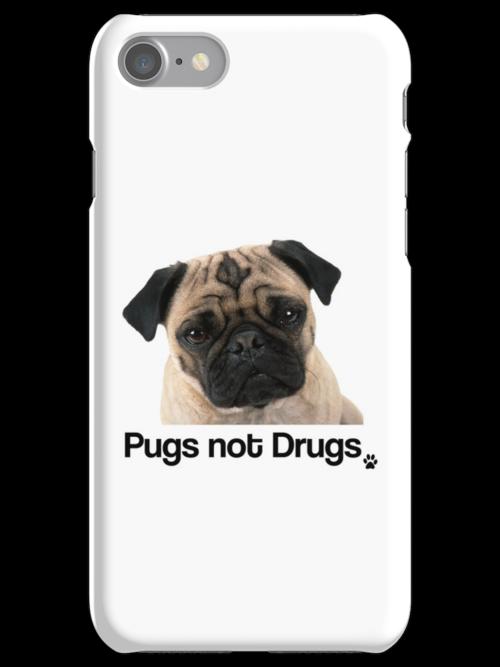 Pugs not Drugs by gemzi-ox