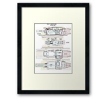 Firefly Serenity Clarence Class Salvageship Framed Print