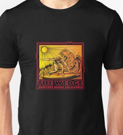 THE WEDGE NEWPORT BEACH CALIFORNIA Unisex T-Shirt