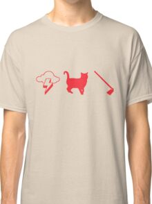 Thunder Cat Hoe Classic T-Shirt