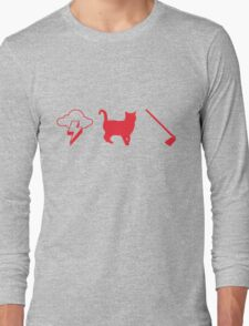Thunder Cat Hoe Long Sleeve T-Shirt