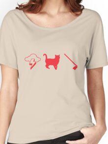 Thunder Cat Hoe Women's Relaxed Fit T-Shirt