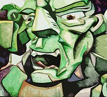 Hulk Abstract by creativecurran