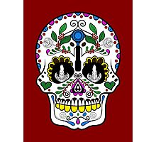 Mexican Coffee Skull Photographic Print
