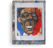 obama abstract Canvas Print