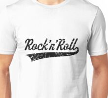 Rock 'n' Roll Vintage (Black) Unisex T-Shirt