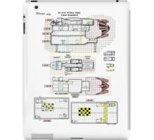 Firefly Ships of the Verse Weston Class Monty's ship iPad Case/Skin