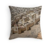 Old Jerusalem Throw Pillow