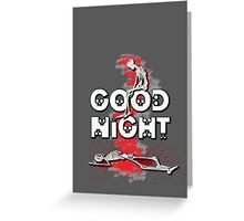 Good [Halloween] Night  Greeting Card
