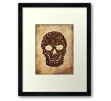 Skull & Beans Framed Print