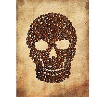 Skull & Beans Photographic Print