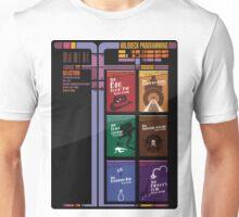 Dixon Hill holodeck menu Unisex T-Shirt