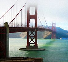Golden Gate of San Francisco by Paul Ewing