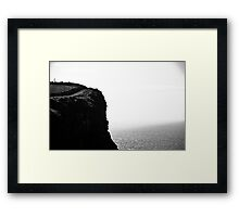 Ireland in Mono: Faces Framed Print