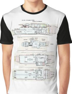 Firefly Ships of the Verse Kingston Class Graphic T-Shirt