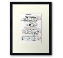 Firefly Ships of the Verse Kingston Class Framed Print