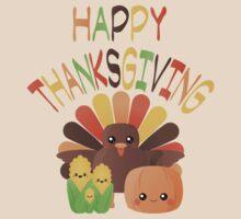 Happy Thanksgiving Kawaii by anertek