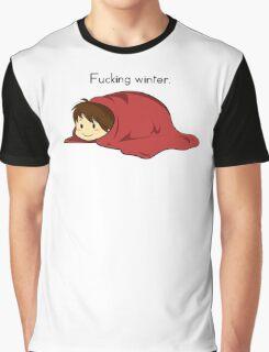 Fucking winter. Graphic T-Shirt