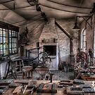 Victorian locksmith's workshop by Adrian Evans