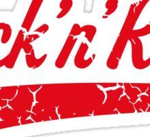 Rock 'n' Roll Vintage (Red) Sticker