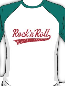 Rock 'n' Roll Vintage (Red) T-Shirt