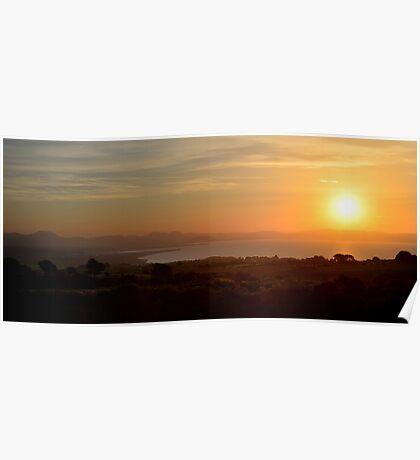 Pwllheli Sunrise Poster