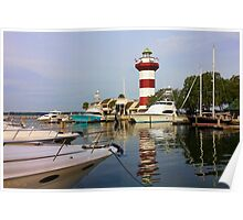 Harbour Town Lighthouse Poster