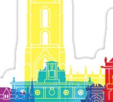 Leon skyline pop Sticker