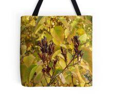 Fall Lilacs Tote Bag