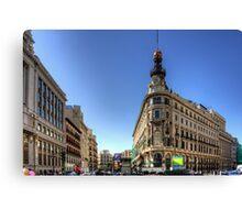 Banco Español de Crédito Canvas Print