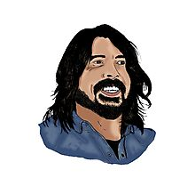 Dave Grohl - Foo Fighters - Legend - Nirvana Photographic Print
