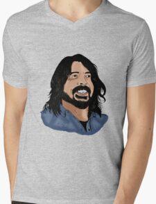 Dave Grohl - Foo Fighters - Legend - Nirvana Mens V-Neck T-Shirt
