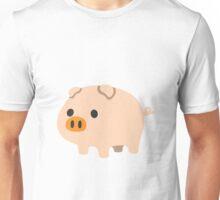 Pig emoji Unisex T-Shirt