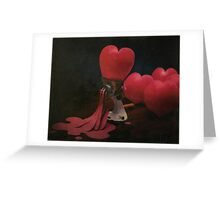 ~ when love takes an unexpected turn ~ Greeting Card