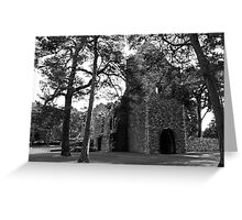 Peebles Cross Kirk Greeting Card