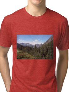 Alaska, USA. The White Pass and Yukon Route Tri-blend T-Shirt
