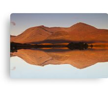 Reflections at Lochan na h-Achlaise, Scotland Canvas Print